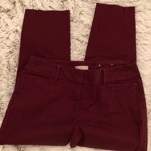 Loft outlet ankle pants